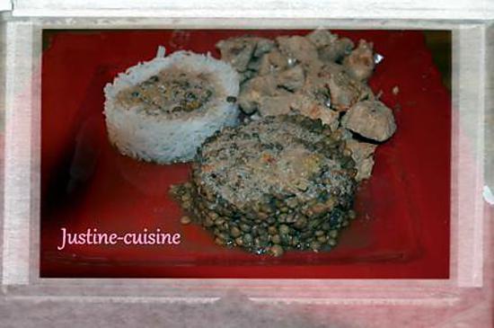 Recette de rouelle de porc aux lentilles recette martiniquaise - Cuisine martiniquaise facile ...