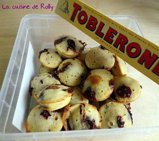 recette Moelleux au toblerone