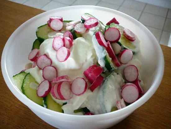 recette Concombre suédois