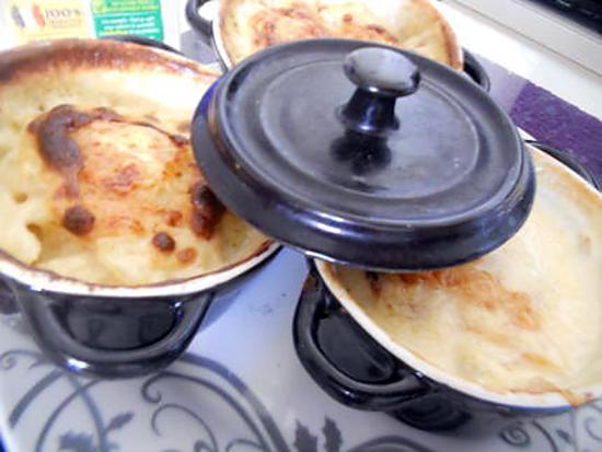 recette Cassolette de gratin dauphinois