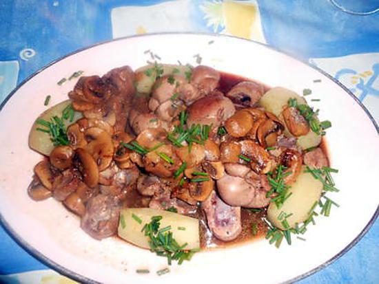 Recette de rognon de veau sauce mad re - Recette de rognons de veau ...