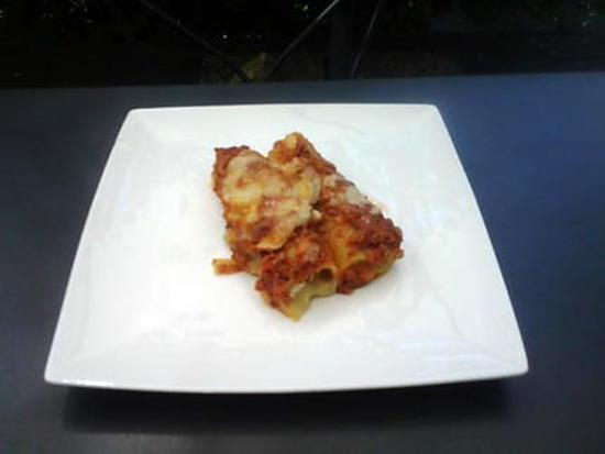recette cannelloni courgette chèvre