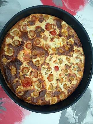 recette Clafoutis de tomates cerises