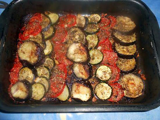 recette Tian de légumes
