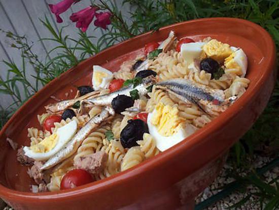 recette Salade de pate à la niçoise