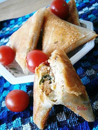 recette Bourek/Bricks Aux Saumon Poireau