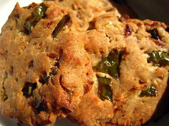 recette Cookies aux légumes