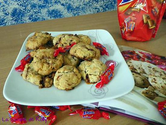 recette Cookies aux Daims