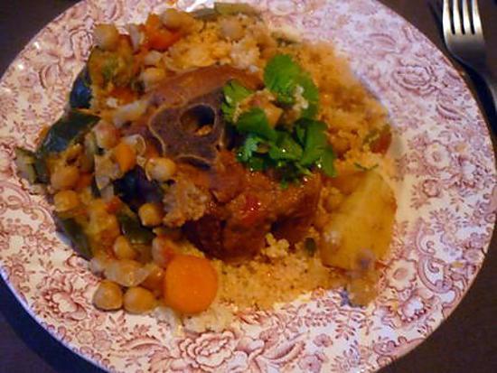 Recette de couscous tunisien au colier d 39 agneau - Recette cuisine couscous tunisien ...