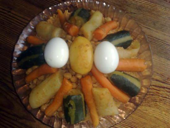 Recette de couscous tunisien par salima38 - Recette cuisine couscous tunisien ...