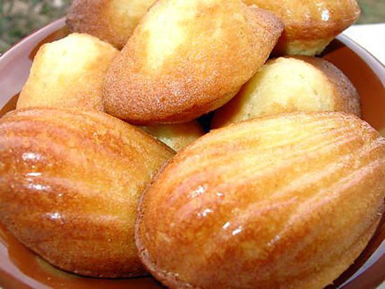 recette les madeleines de Christophe Felder