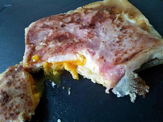 recette de brick jambon oeuf fromage. Black Bedroom Furniture Sets. Home Design Ideas
