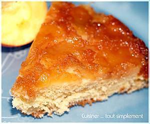 recette Gâteau renversé moitié Breton moitié Normand