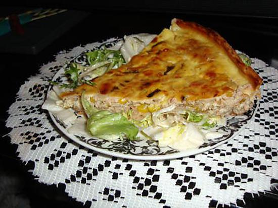 recette de quiche au thon. Black Bedroom Furniture Sets. Home Design Ideas