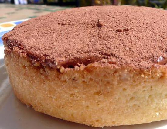 recette Tartelettes au nutella, pâte sucrée by Christophe Felder