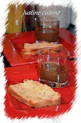 recette Cake aux pommes et sa sauce aux carambars