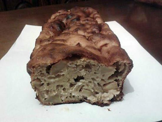 recette cake de pommes à la cannelle