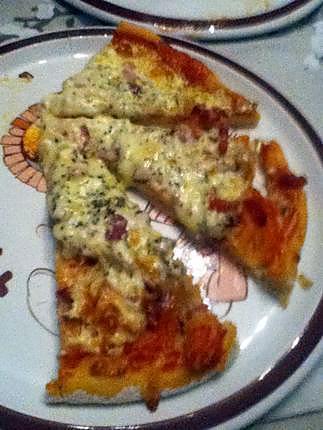 recette Pizza alsacienne