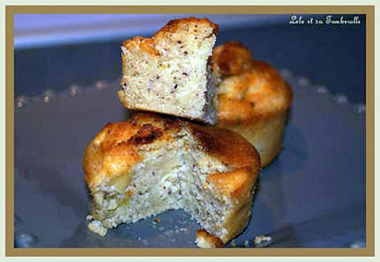 recette de muffins aux pommes et noisettes. Black Bedroom Furniture Sets. Home Design Ideas