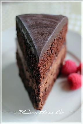 recette ~Gâteau triple chocolat~