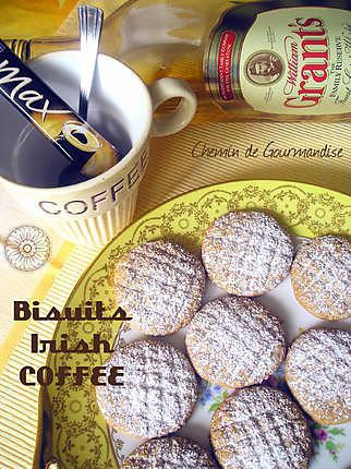 recette Biscuits Rond Irish Coffee