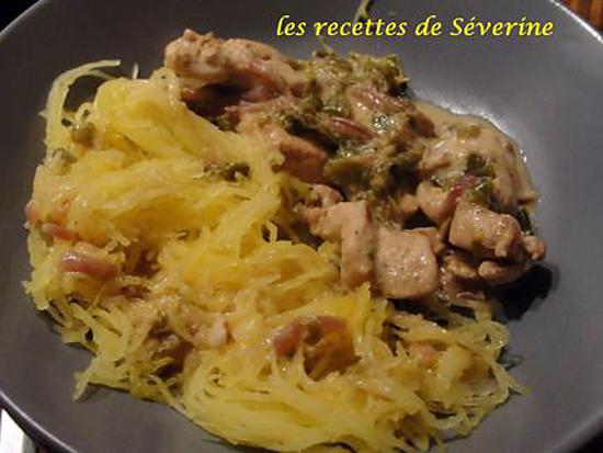Comment cuisiner courge spaghetti - Comment cuisiner une courge spaghetti ...