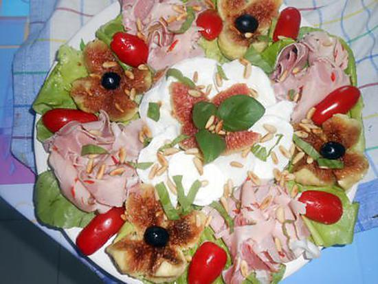 Salade composée du soir 430