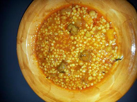 recette Berkoukes algerien