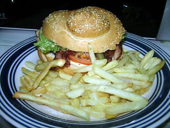 recette Burger pimenté