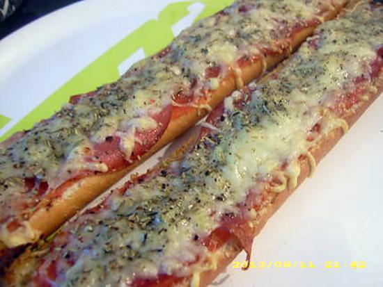 recette pain bacon express