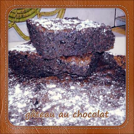 recette Gâteau au chocolat parfait!