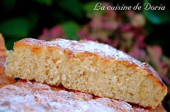 recette Tarte au sucre