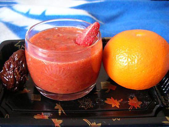 recette NOMANFRAIS ou Smoothie de fruits frais