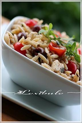 recette ~Salade d'orzo~