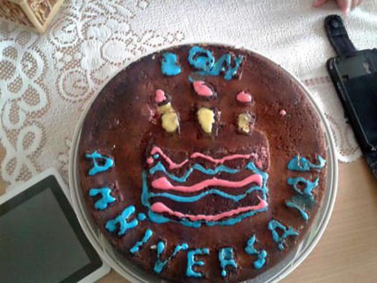 recette gâteau au deux chocolats pour l anniversaire de mon fils yannis