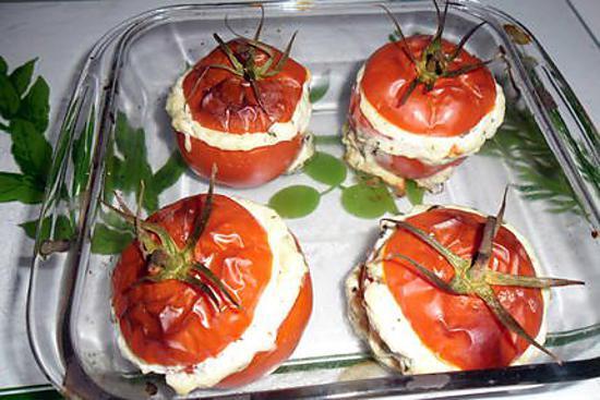 recette tomates farcies ricotta basilic