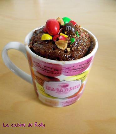 recette mug cake nutella