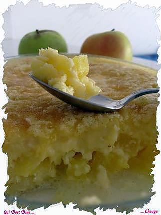 recette Clafoutis pomme / mangue / coco