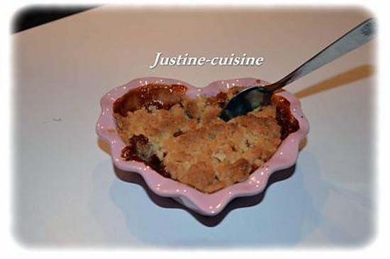 Recette De Crumble Pomme Poire Carambar