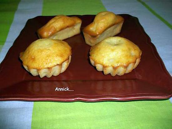 Recette de petits g teaux poire vanille sans mati re grasse - Cuisine sans matiere grasse ...