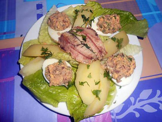 Oeufs farcis aux sardines 430