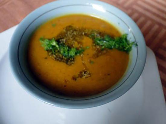 recette Soupe carottes-fenouil
