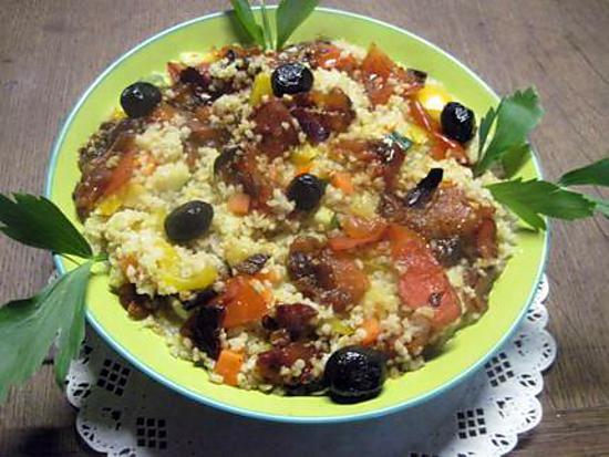 recette Fatal boulgour aux légumes.