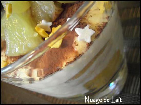 recette Tiramisu Ananas