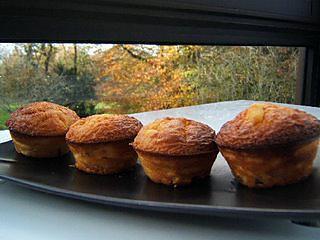recette Muffins chocolat blanc fève tonka