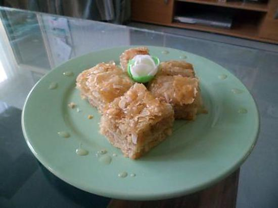recette Gâteau libanai