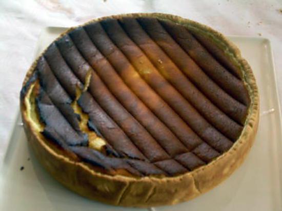 recette tarte au fromage blanc et confiture