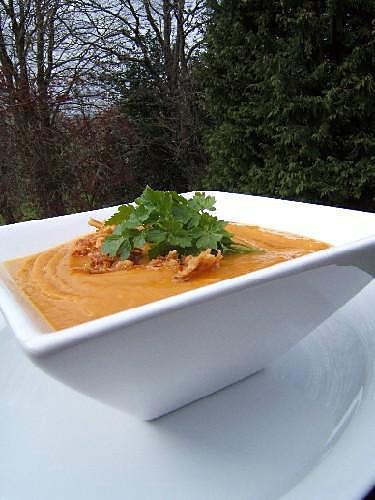 recette Soupe indienne à la patate douce