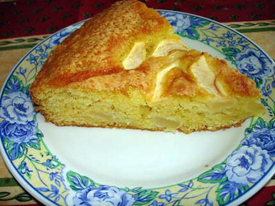 Recette De Gâteau Moelleux Aux Amandes Et Aux Pommes
