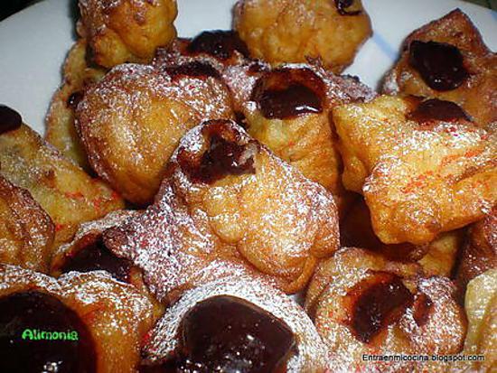 recette BEIGNETS FOURRES AU CHOCOLAT